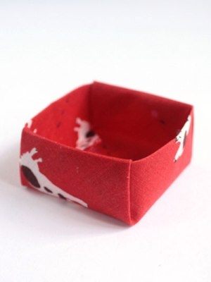 Picture of an origami box