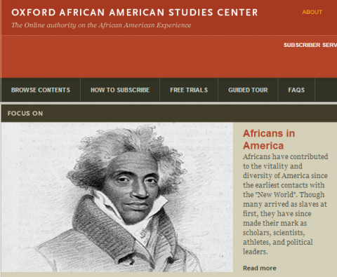 Oxford African American Studies Center