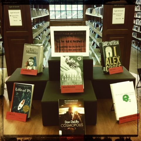 photo of Petworth Library display table