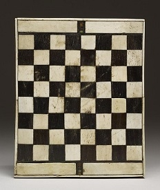 Image of old chess board