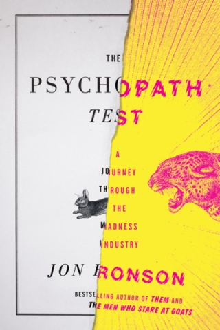 Cover image of the book The Psychopath Test: A Journey Through the Madness Industry