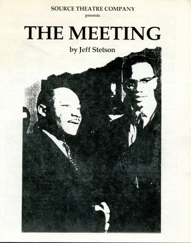 The Meeting playbill
