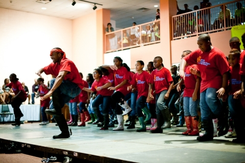 Photo of Step Afrika! Performance
