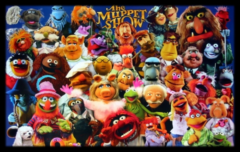 The Muppets cast photo