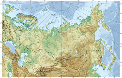 topography of russia - wikipedia