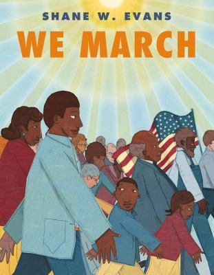 Book cover of We March