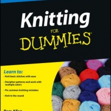 Cover for the book Knitting for Dummies