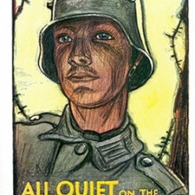 All Quiet On The Western Front book cover.