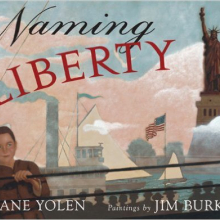 Cover image of the book Naming Liberty