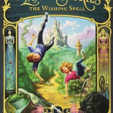 Cover for the book The Wishing Spell