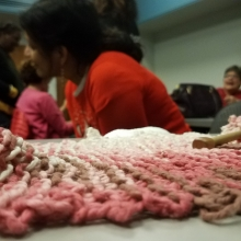 Upper NW Knitters gathering - detail