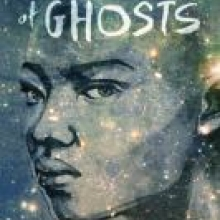 An Unkindness of Ghosts cover - depicts a black woman looking serious