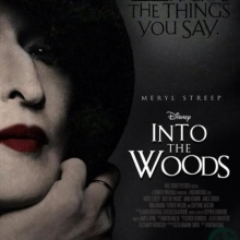 Into the Woods movie poster.