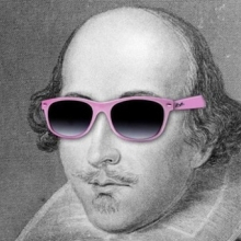 Cool image of Shakespeare