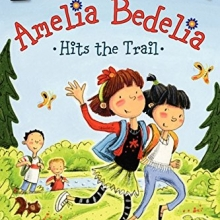 Cover image for Amelia Bedelia Hits the Trail