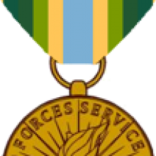 More Than Words logo. The Armed Forces Medal.