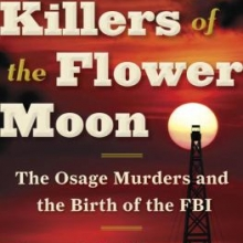 Image of Killers of the Flower Moon book cover