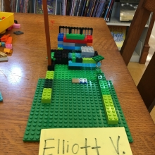 Elliot's Lego Creation June 14, 17