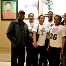 Photo of the Jackson Family Art Show family.