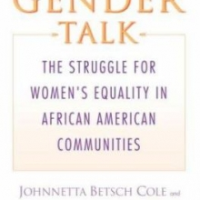 Gender Talk by Johnnetta Cole.
