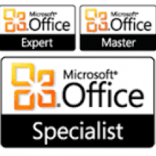 Microsoft Office Specialist Certification Logo