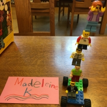 Madeleine's Lego Creation June 14, 17
