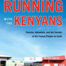 Cover of the book Running with the Kenyans