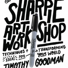 Sharpie Art Workshop cover
