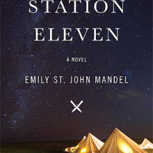 Station eleven by Emily St. John Mandel cover