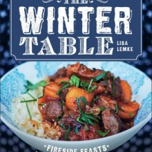 Cover image for The Winter Table by Lisa Lemke