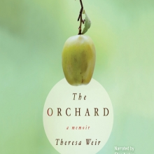 The Orchard cover: A single granny smith apple hanging from a small branch