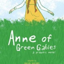 Anne of Green Gables graphic novel book cover