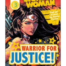Wonder Woman: Warrior for Justice book cover