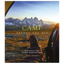 Fifty Places to Camp Before You Die book cover