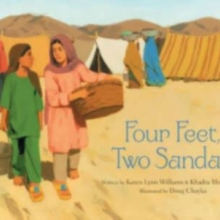 Four Feet, Two Sandals by Karen Lynn Williams and Khadra Mohammed