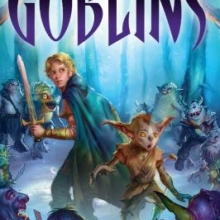 book cover for Goblins by Philip Reeve