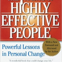 The 7 Habits of Highly Effective People by Stephen R. Covey Cover