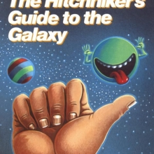 Hitchhikers Guide cover
