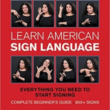 Cover of Learn American Sign Language