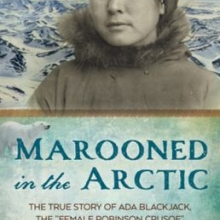 marooned in the arctic book cover