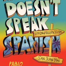 Marcus Vega Doesn't Speak Spanish cover