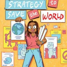 Mya's Strategy to Save the World book cover
