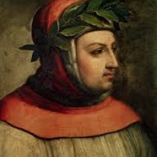 Painting of Petrarch