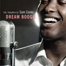 Book cover for Dream Boogie, the Triumph of Sam Cooke