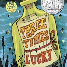 Three Times Lucky book cover