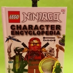 Minifigure Green Ninja ZX atop the Character Encyclopedia