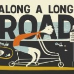 "Book cover for ""Along a Long Road"""