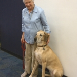 Photo of Ann Ingram and her dog, Daisy
