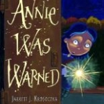 "Book cover for ""Annie was Warned"" book"