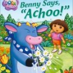 """Benny says Achoo"" book cover"